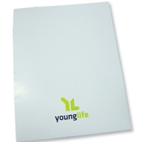 Folder - White with logo