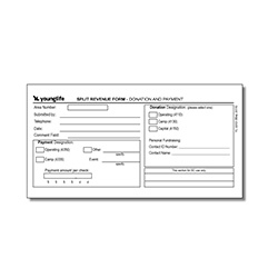 2203 - Split Revenue Form (Pkg: 50)