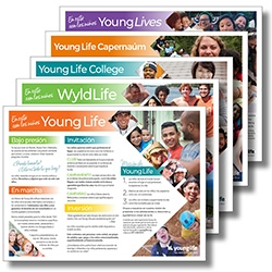 Young Life (in it with kids) Flyers (PDF) - Spanish