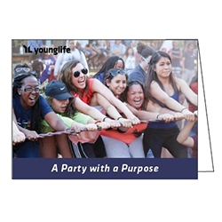 Notes - A Party with a Purpose (purple) (Pkg: 25)