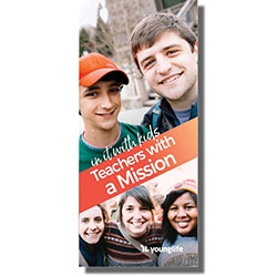 Teachers with a Mission Brochure (in it with kids) (Pkg: 25)