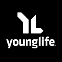 Decal - Young Life (vertical, white)